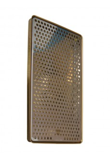 Каплесборник Vin Service (Италия), 40 х 22 см, хром/золото