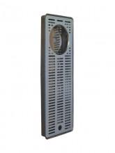 Каплесборник с ополаскивателем Vin Service (Италия), 45 х 16 см, хром