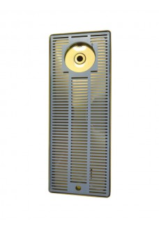 Каплесборник с ополаскивателем Vin Service (Италия), 60 х 22 см, хром/золото