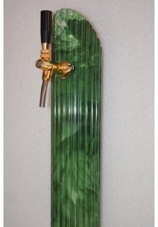 Пивная башня Bitburger (зелёный мрамор, 1 сорт)