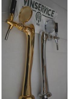 Пивная башня Vin Service Flute (хром или золото)