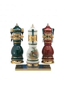 Керамическая пивная башня Vin Service Norimberga (2-3 крана, красная и зеленая)