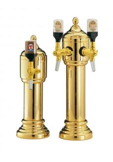 Пивная башня Vin Service Parigi (2 крана, золото)