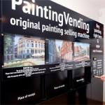Разработан вендинговый автомат по продаже оригиналов картин местных художников