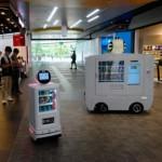 Интеллектуальный мобильный роботизированный вендинг аппарат